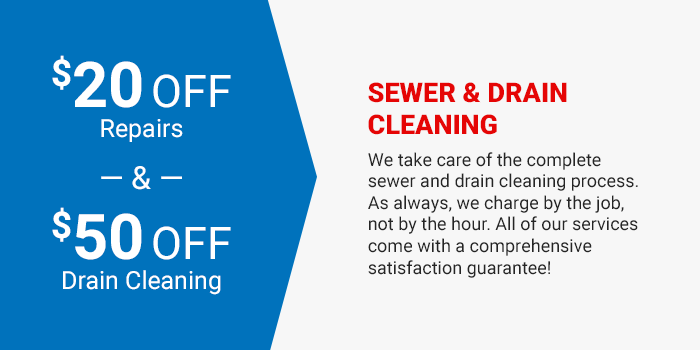 Sewer and Drain Cleaning Coupon
