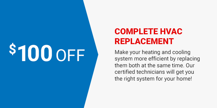 HVAC Replacement coupon